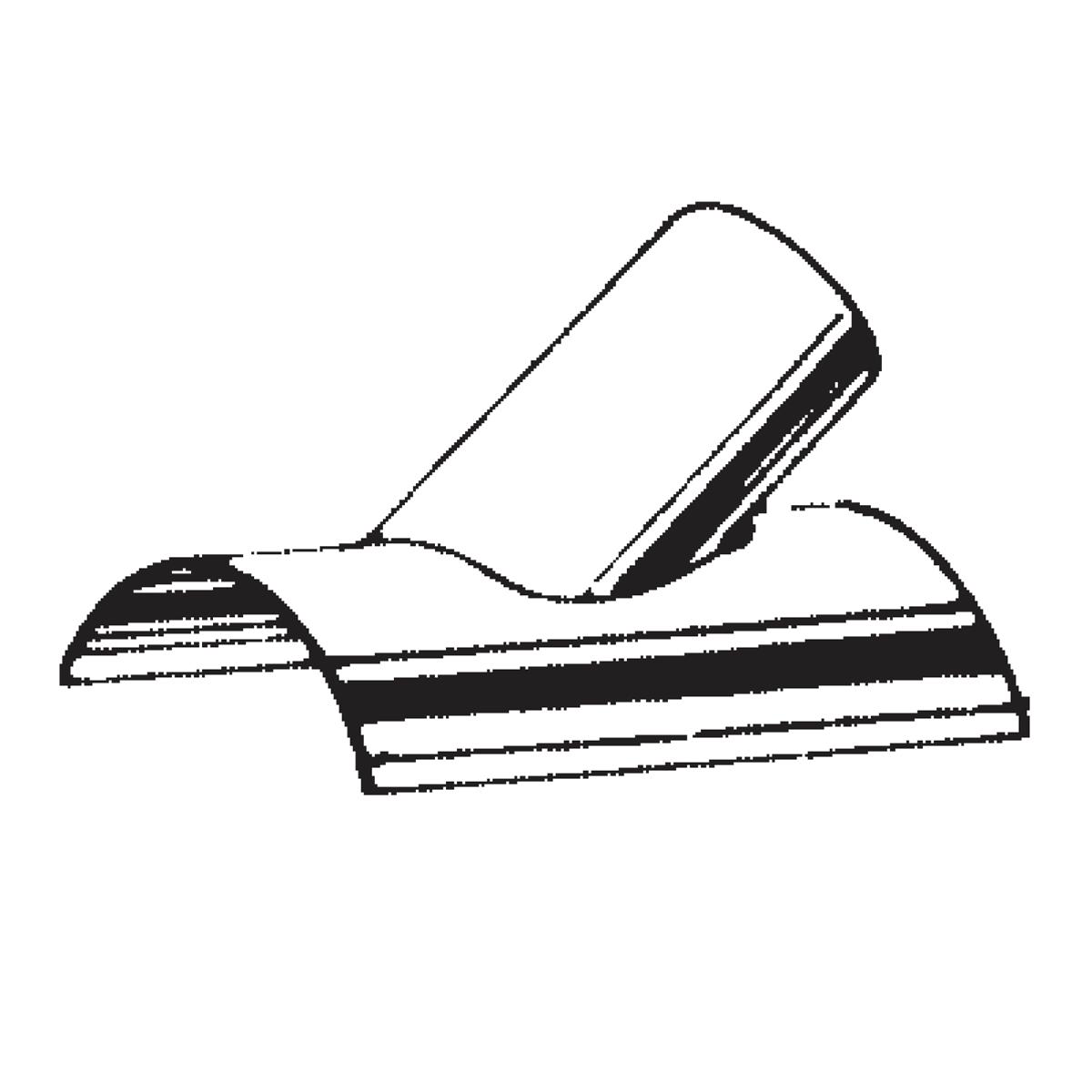 galvanized vent saddle