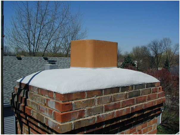 Chimney Crown Forms : Cold weather crowncoat gallon