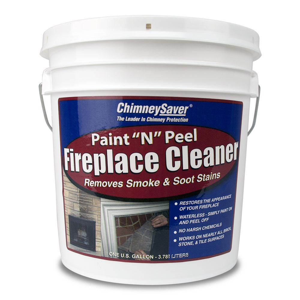"ChimneySaver Paint ""N"" Peel Fireplace Cleaner 1 Gallon"