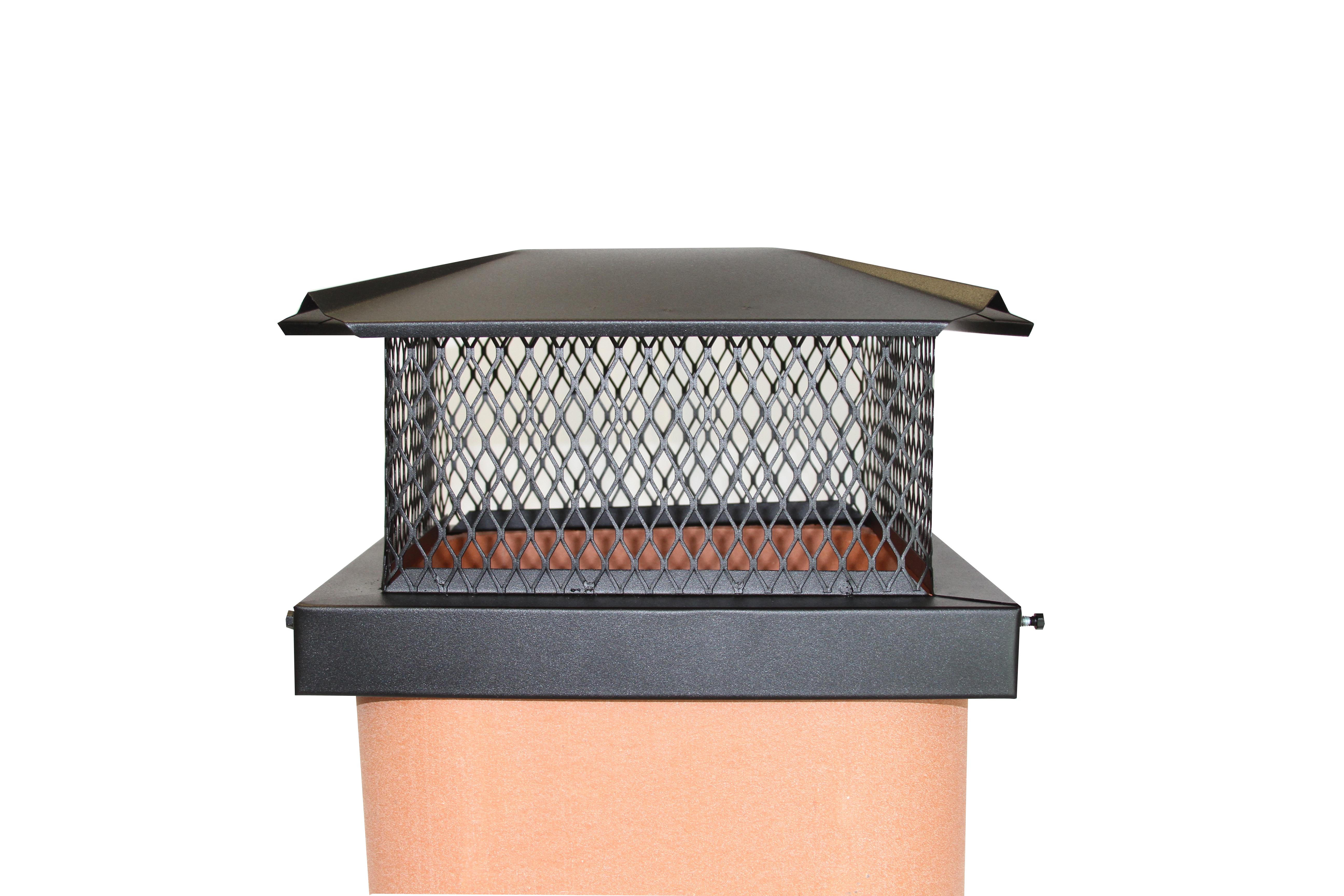 premium black chimney caps